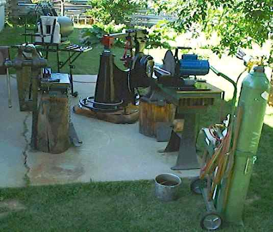 Backyard Forge ron's forge page