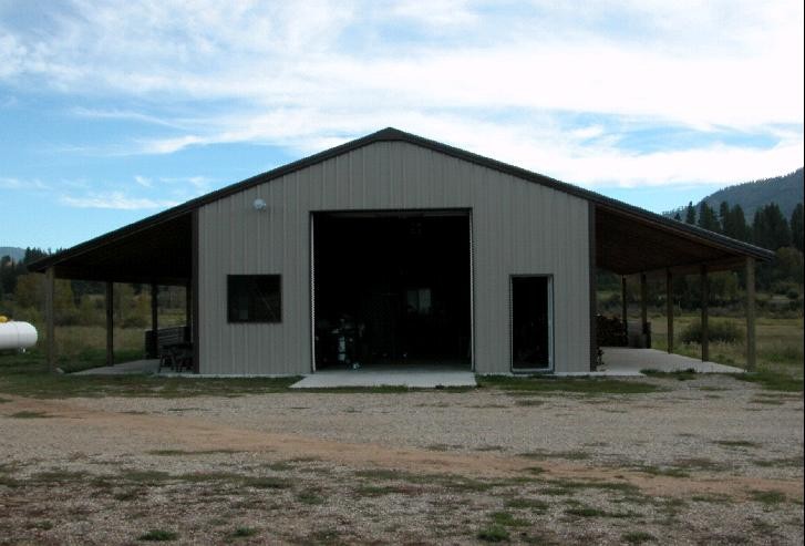 Golden age forge 39 s new shop for Shop barn plans